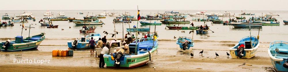 puerto-lopez-boats-shore-ecuador-beach